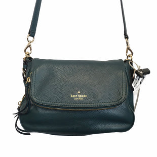 Primary Photo - BRAND: KATE SPADE STYLE: HANDBAG DESIGNER COLOR: TEAL SIZE: MEDIUM OTHER INFO: AS IS SKU: 283-283133-16755