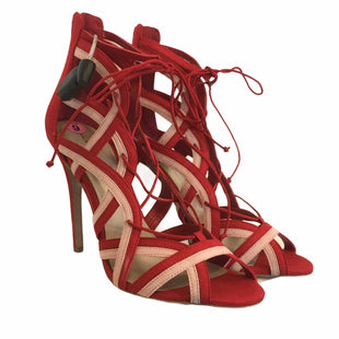 Primary Photo - BRAND: ALDO STYLE: SHOES LOW HEEL COLOR: RED SIZE: 9 SKU: 283-283149-7637