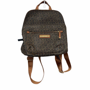 Primary Photo - BRAND: CALVIN KLEIN STYLE: BACKPACK COLOR: BROWN SIZE: MEDIUM SKU: 283-28388-28050