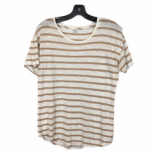 Primary Photo - BRAND: MADEWELL STYLE: TOP SHORT SLEEVE COLOR: BROWN SIZE: M SKU: 283-283148-1644