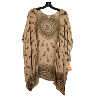 Primary Photo - BRAND: BAND OF GYPSIES STYLE: TOP SHORT SLEEVE COLOR: BROWN SIZE: S SKU: 283-28388-20804