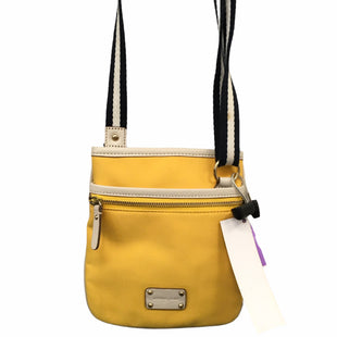 Primary Photo - BRAND: MICHAEL KORS STYLE: HANDBAG DESIGNER COLOR: YELLOW SIZE: SMALL OTHER INFO: AS IS SKU: 283-28388-27719