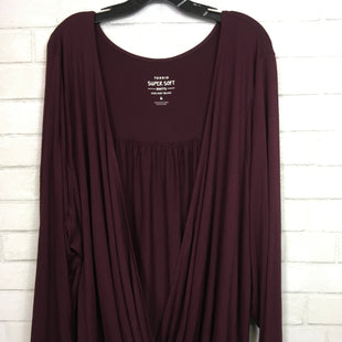 Primary Photo - BRAND: TORRID STYLE: TOP LONG SLEEVE COLOR: BURGUNDY SIZE: 3X SKU: 283-283149-5629