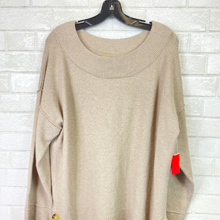 Primary Photo - BRAND: DEMOCRACY STYLE: SWEATER LIGHTWEIGHT COLOR: BROWN SIZE: L SKU: 283-283135-3386