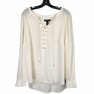 Primary Photo - BRAND: INC STYLE: TOP LONG SLEEVE COLOR: WHITE SIZE: 2X SKU: 283-283149-5303
