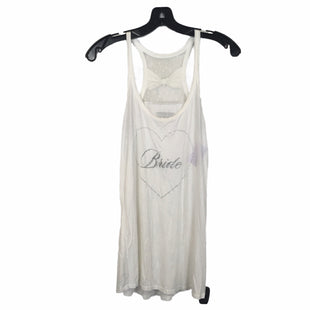 Primary Photo - BRAND: VICTORIAS SECRET STYLE: TOP SLEEVELESS COLOR: WHITE SIZE: L OTHER INFO: BRIDE SKU: 283-283148-1745