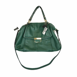 Primary Photo - BRAND: B MAKOWSKY STYLE: HANDBAG DESIGNER COLOR: GREEN SIZE: MEDIUM OTHER INFO: AS IS SKU: 283-283124-21858