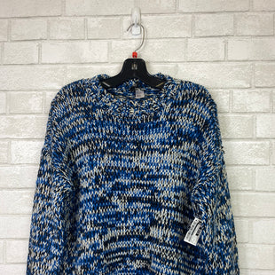 Primary Photo - BRAND: DIVIDED STYLE: SWEATER HEAVYWEIGHT COLOR: BLUE WHITE SIZE: S SKU: 283-283103-33273