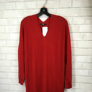 Primary Photo - BRAND:    CLOTHES MENTOR STYLE: DRESS SHORT LONG SLEEVE COLOR: RED SIZE: XS OTHER INFO: 3D KNIT - SKU: 283-283104-9592