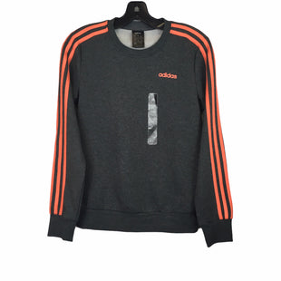 Primary Photo - BRAND: ADIDAS STYLE: ATHLETIC TOP COLOR: GREY SIZE: XS SKU: 283-283145-2124