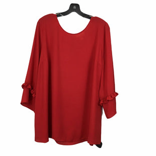 Primary Photo - BRAND: MOTHERHOOD STYLE: MATERNITY TOP LONG SLEEVE COLOR: RED SIZE: XL SKU: 283-28388-20937
