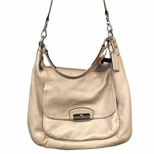 Primary Photo - BRAND: COACH STYLE: HANDBAG DESIGNER COLOR: CREAM SIZE: MEDIUM OTHER INFO: AS IS SKU: 283-283149-9222