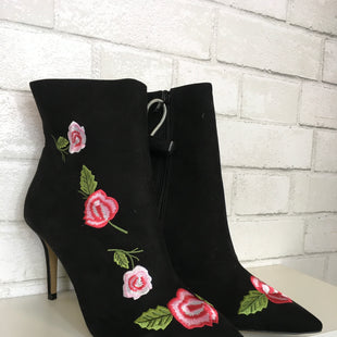 Primary Photo - BRAND: BETSEY JOHNSON STYLE: BOOTS ANKLE COLOR: BLACK SIZE: 9.5 SKU: 283-283149-5263