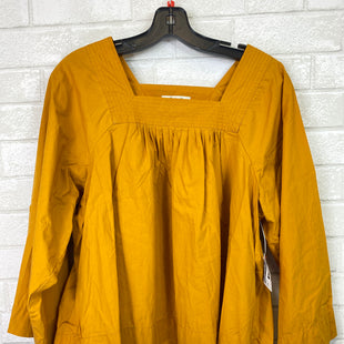 Primary Photo - BRAND: MADEWELL STYLE: TOP LONG SLEEVE COLOR: YELLOW SIZE: M SKU: 283-28388-14251
