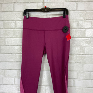 Primary Photo - BRAND:    CLOTHES MENTOR STYLE: ATHLETIC CAPRIS COLOR: PURPLE SIZE: M OTHER INFO: DSG - SKU: 283-283134-8033