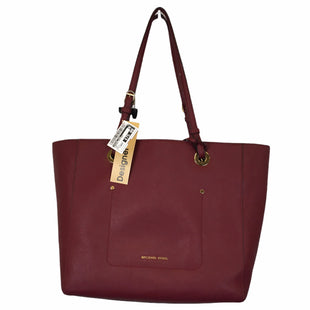 Primary Photo - BRAND: MICHAEL KORS STYLE: HANDBAG DESIGNER COLOR: RED SIZE: LARGE OTHER INFO: AS IS SKU: 283-28388-21309