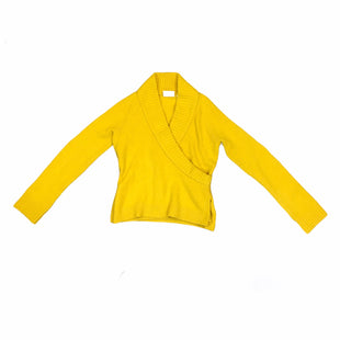 Primary Photo - BRAND: ANTHROPOLOGIE STYLE: SWEATER LIGHTWEIGHT COLOR: YELLOW SIZE: XS SKU: 283-28388-20490