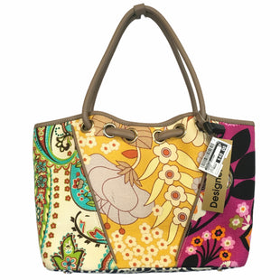 Primary Photo - BRAND: SPARTINA STYLE: HANDBAG DESIGNER COLOR: YELLOW SIZE: MEDIUM OTHER INFO: AS IS SKU: 283-283149-9294