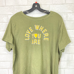 Primary Photo - BRAND: OLD NAVY STYLE: TOP SHORT SLEEVE BASIC COLOR: GREEN SIZE: XL SKU: 283-283133-14877