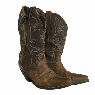 Primary Photo - BRAND: LAREDO STYLE: BOOTS DESIGNER COLOR: BROWN SIZE: 10 OTHER INFO: AS IS SKU: 283-28388-24576
