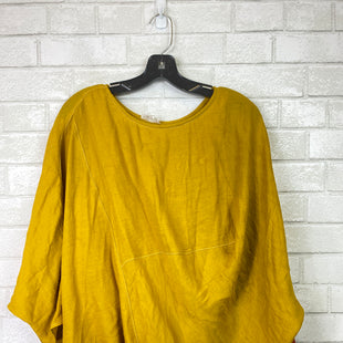 Primary Photo - BRAND: GLAM STYLE: TOP LONG SLEEVE COLOR: YELLOW SIZE: S SKU: 283-283104-6707