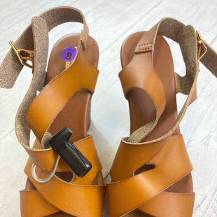 Primary Photo - BRAND: MOSSIMO STYLE: SANDALS HIGH COLOR: BROWN SIZE: 8 OTHER INFO: AS IS SKU: 283-28388-6992