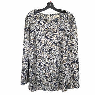 Primary Photo - BRAND: LOFT STYLE: TOP LONG SLEEVE COLOR: BLUE WHITE SIZE: 20 OTHER INFO: 1X SKU: 283-283135-5130
