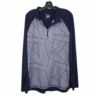 Primary Photo - BRAND: OLD NAVY STYLE: ATHLETIC TOP COLOR: BLUE WHITE SIZE: XL SKU: 283-283133-17253
