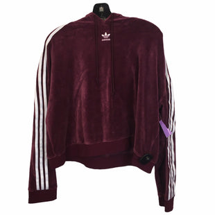 Primary Photo - BRAND: ADIDAS STYLE: ATHLETIC JACKET COLOR: BURGUNDY SIZE: L SKU: 283-283134-9937