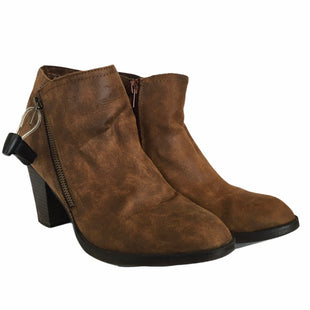 Primary Photo - BRAND: RAMPAGE STYLE: BOOTS ANKLE COLOR: BROWN SIZE: 9 SKU: 283-28388-17921