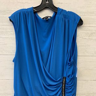 Primary Photo - BRAND: ELLEN TRACY STYLE: TOP SHORT SLEEVE COLOR: ROYAL BLUE SIZE: 3X SKU: 283-283104-7513