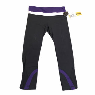 Primary Photo - BRAND: LULULEMON STYLE: ATHLETIC CAPRIS COLOR: BLACK SIZE: S SKU: 283-28389-43409