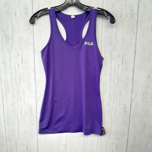 Primary Photo - BRAND: FILA STYLE: ATHLETIC TANK TOP COLOR: PURPLE SIZE: XS SKU: 283-283135-1392