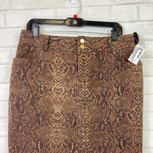 Primary Photo - BRAND: CHAPS STYLE: SKIRT COLOR: BROWN SIZE: 10 SKU: 283-28388-14253