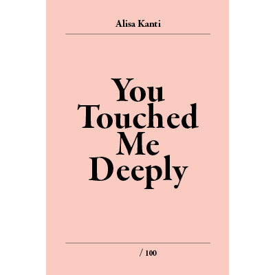 """You touched me Deeply"" libro de poesía"