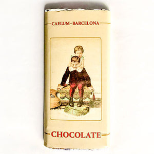 Barra de Chocolate negro 72 % Caelum