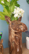 Load image into Gallery viewer, Moose Flower Vase by Quail (large)