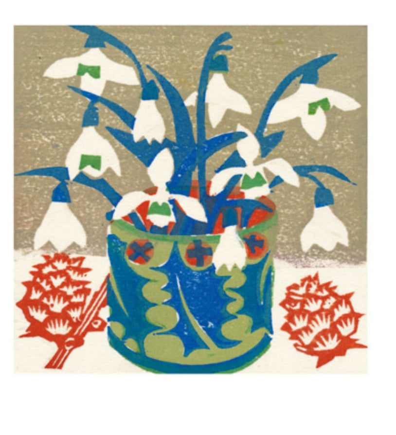 Card - Snowdrops 2 by Matt Underwood