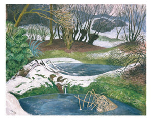 Card - Frozen Ponds by John Nash