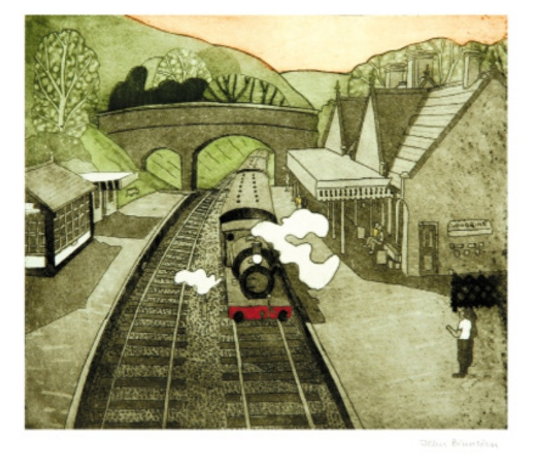 Card - Weybourne Railway Station by John Brunsdon
