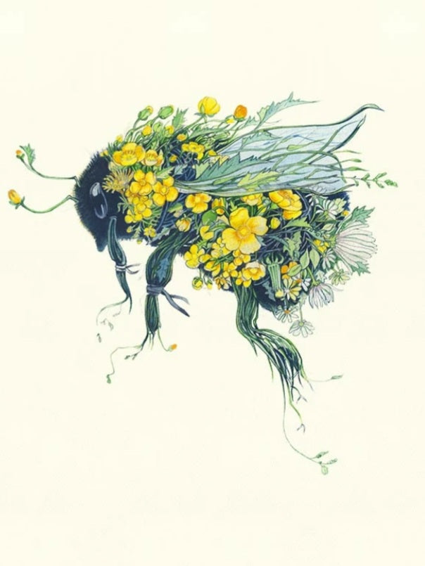 Card - Bumble Bee by Daniel Mackie