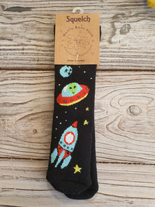 Squelch Socks for Kids 3-6 yrs - Rocket