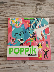 Poppik Sticker Activity Pack - Cats
