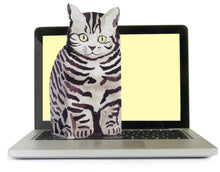 Load image into Gallery viewer, Pop Up Pet (Silver Tabby)