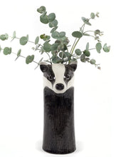 Load image into Gallery viewer, Badger Flower Vase by Quail (large)