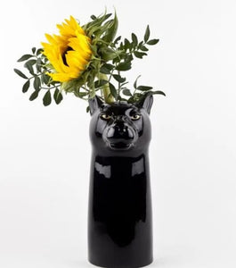 Panther Flower Vase by Quail (large)