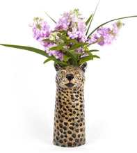 Load image into Gallery viewer, Leopard Flower Vase by Quail (large)
