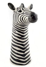 Load image into Gallery viewer, Zebra Flower Vase by Quail (large)