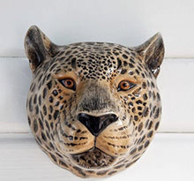Load image into Gallery viewer, Leopard Wall Vase by Quail (large)