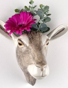 Goat Wall Vase  (large) by Quail